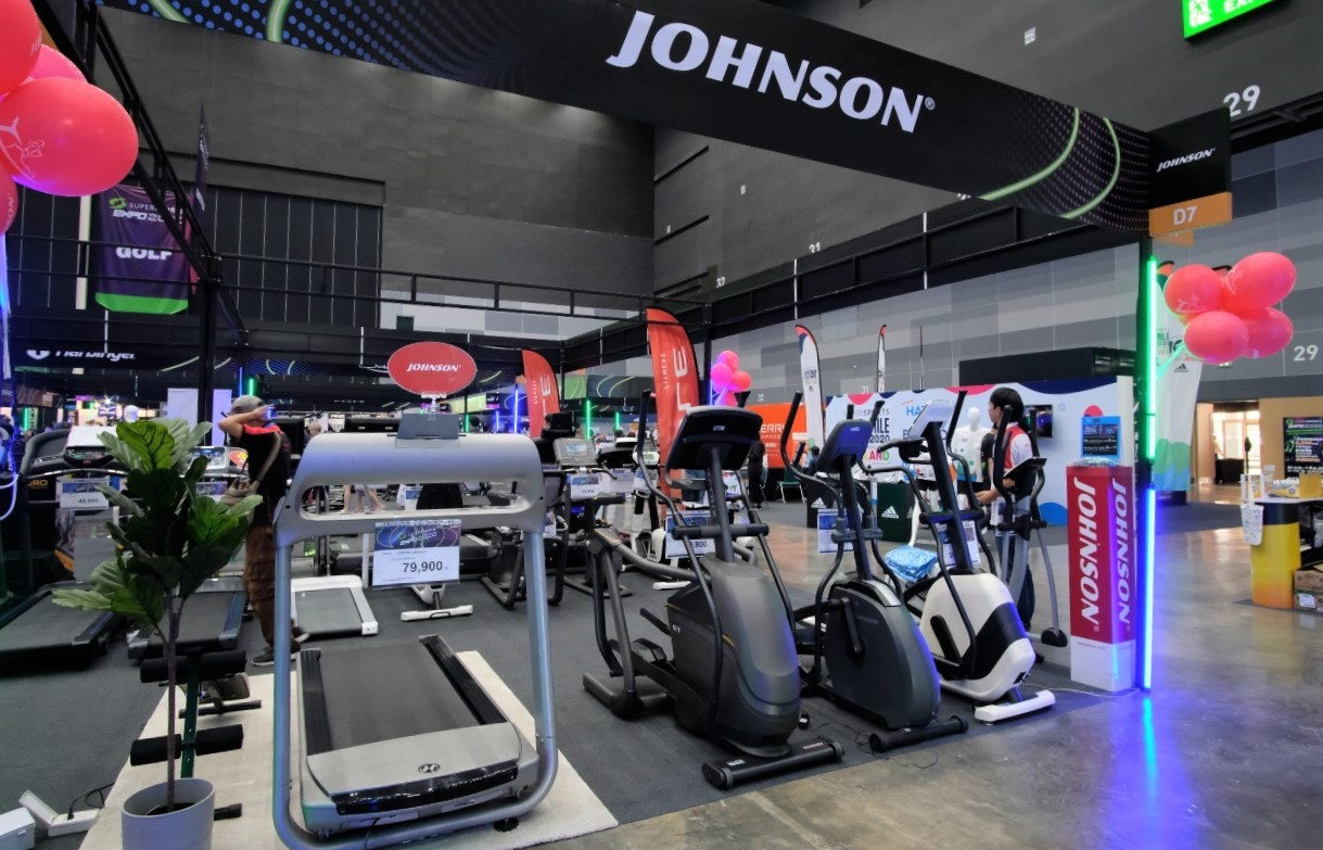 Johnson Health Tech Supersports Expo 2020
